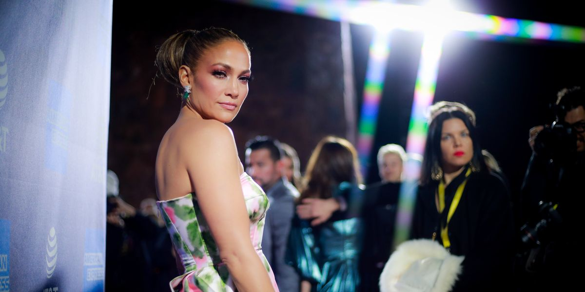 Jennifer Lopez's Red Carpet Look Is Fit for a Queen