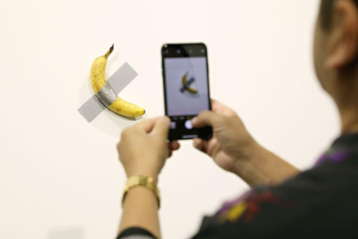 The Case of the $120K Art Basel Banana Just Got Weirder