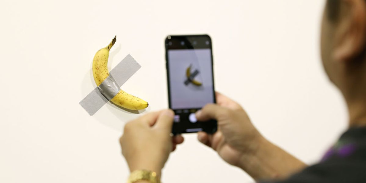 The Case of the $120K Art Basel Banana Just Got Weirder