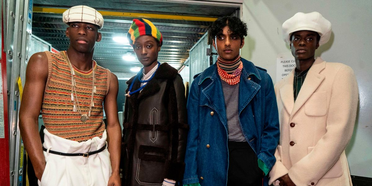 Wales Bonner Staged a British Afro-Caribbean Fashion Affair
