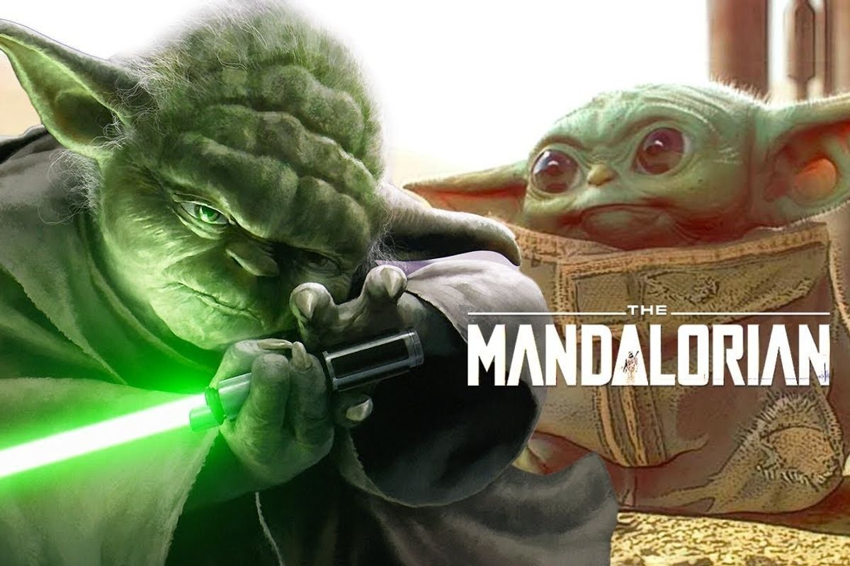 Disney Thinks You Want to Look Like Baby Yoda