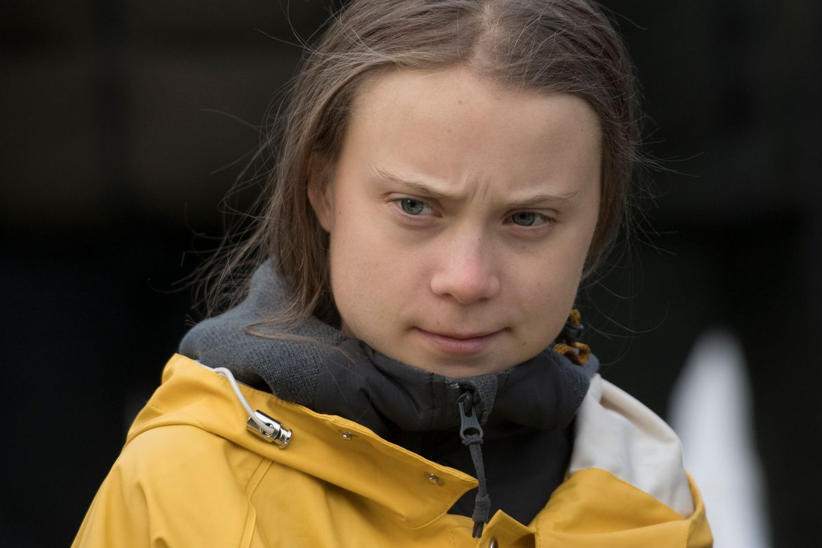 Greta Thunberg Shuts Down Meat Loaf's 'Brainwashed' Comments