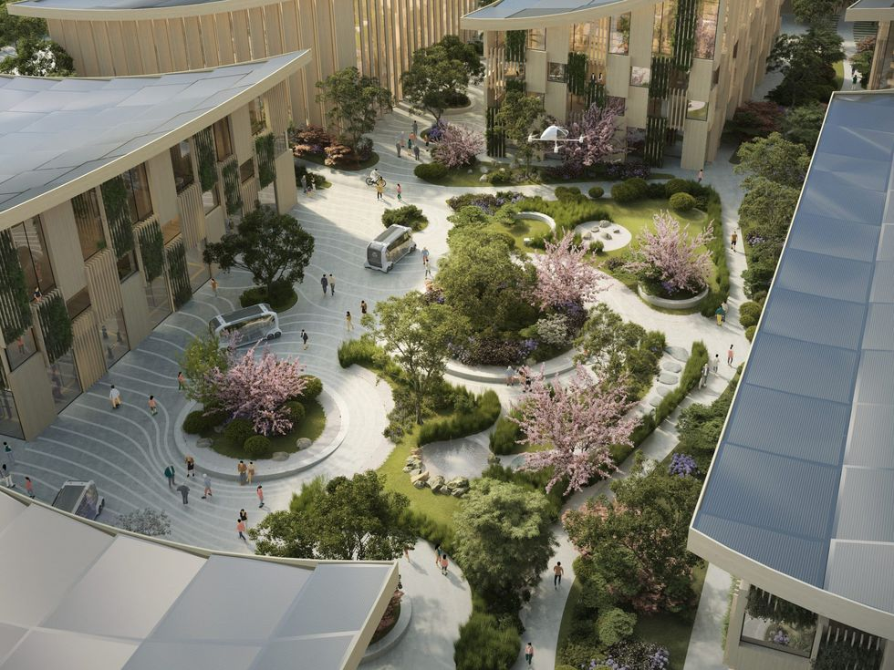 Toyota Woven City 2020 2021