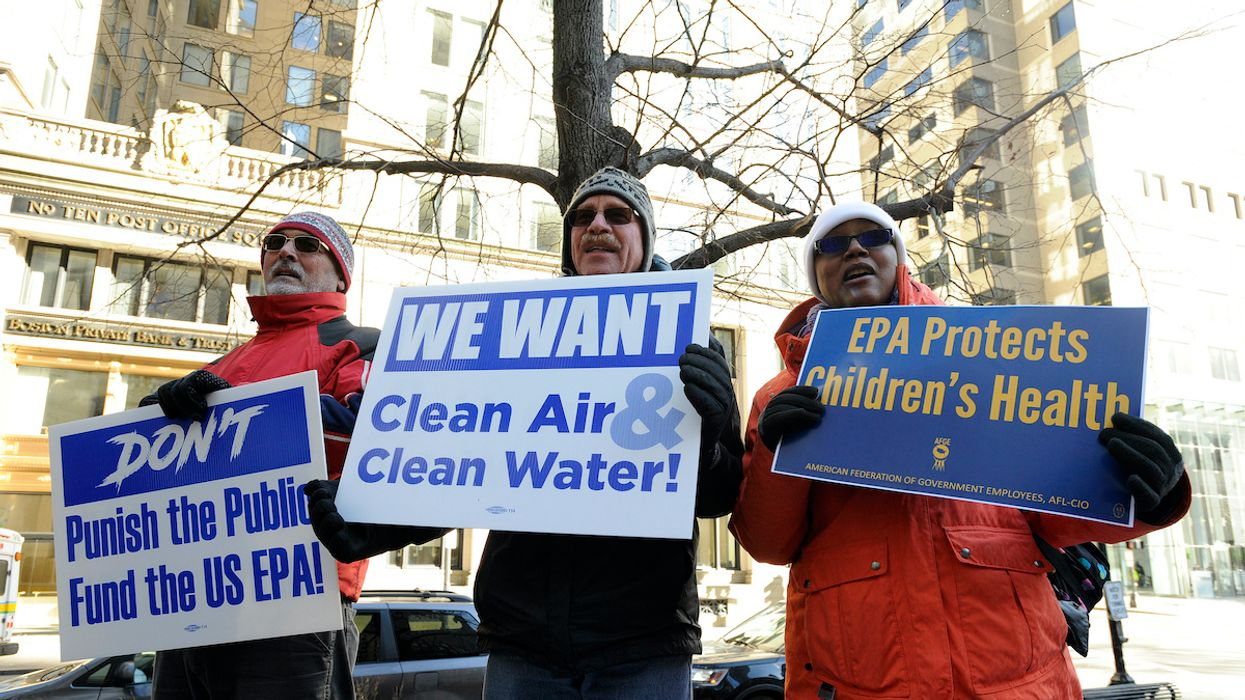 Under Trump, EPA Workers Seek Bill of Rights to Allow Them to Protect the Environment and Public Health