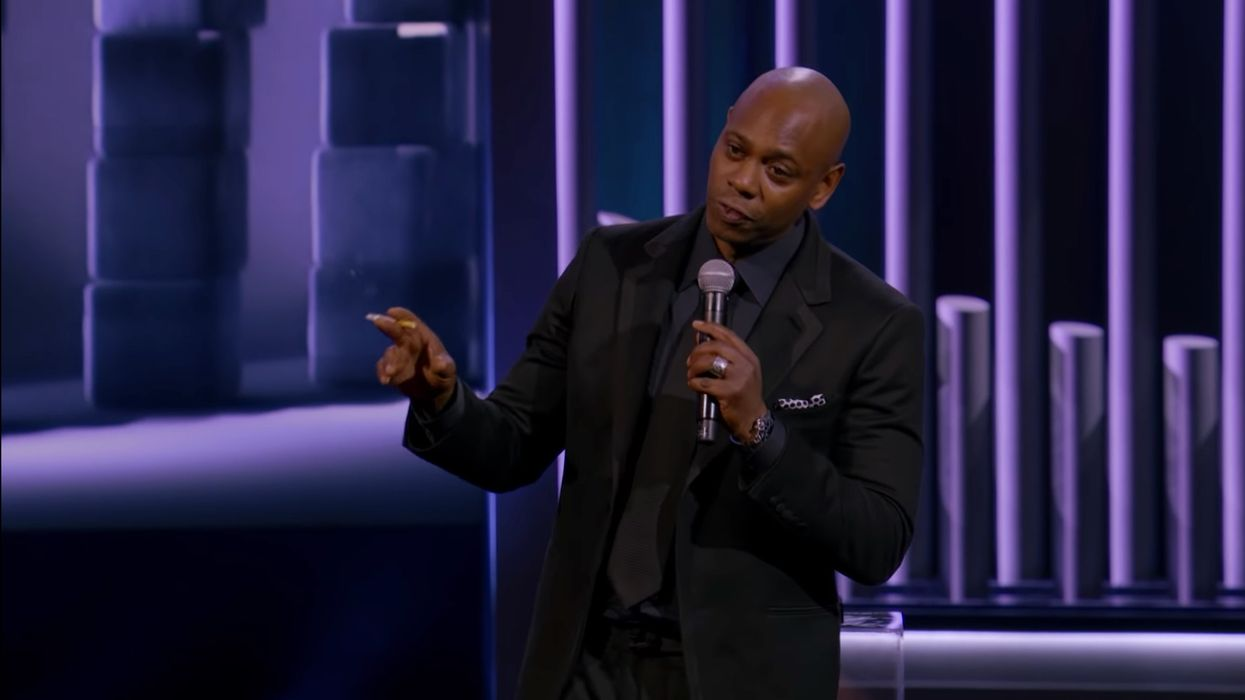 Dave Chappelle: 'The Second Amendment is just in case the first one doesn't work out'