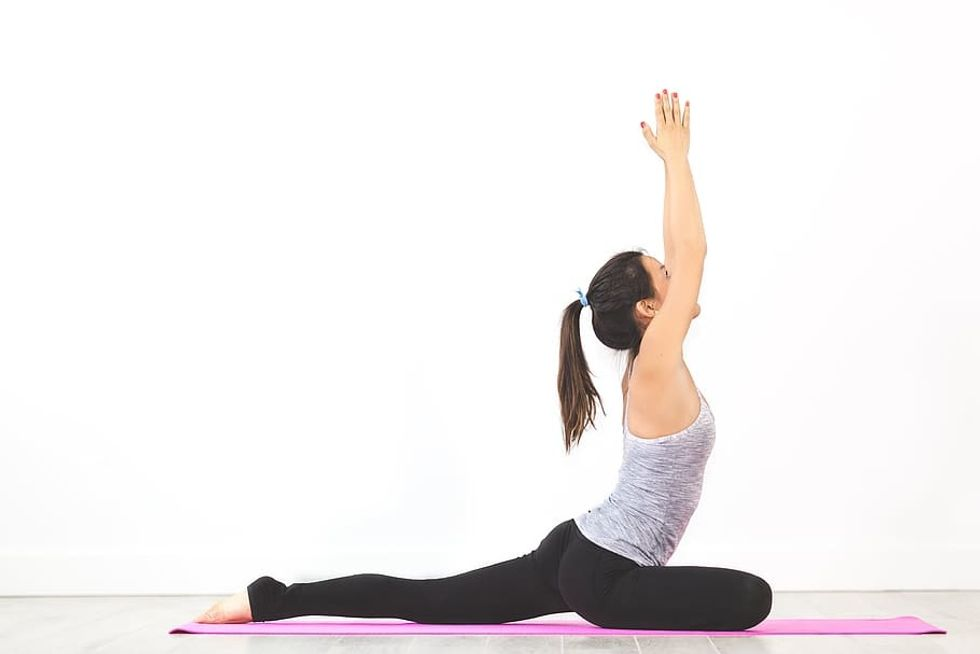 Private Yoga Class Sharjah 