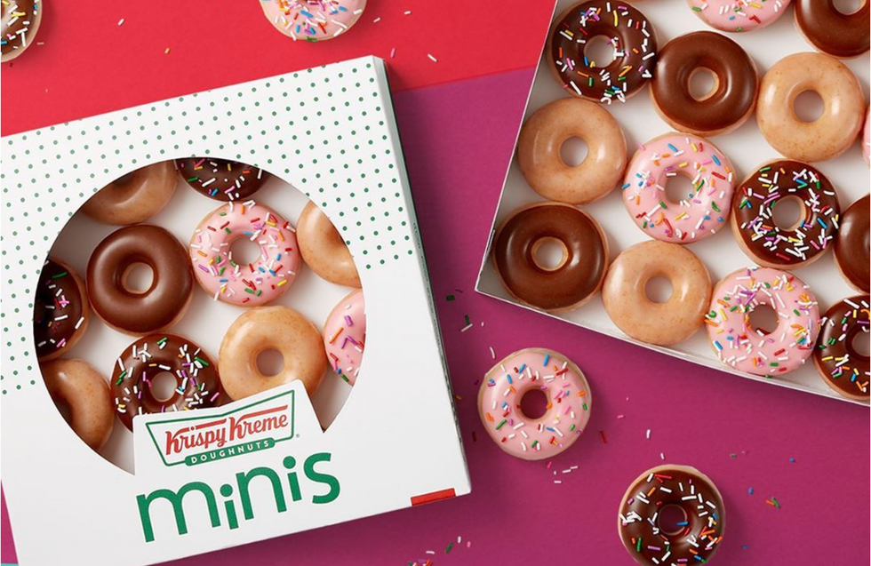 Krispy Kreme Is Giving Away FREE Mini Donuts Every Monday For The Rest Of The Month