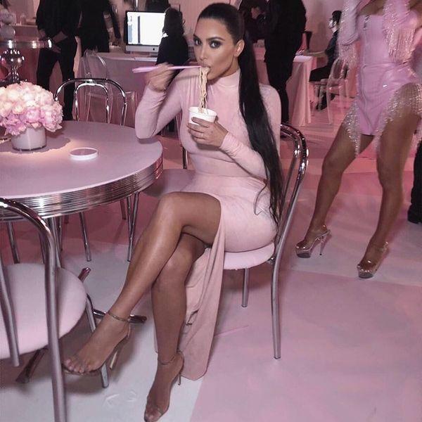 Kim Kardashian's Walk-In Fridge Is Bigger Than Your Apartment