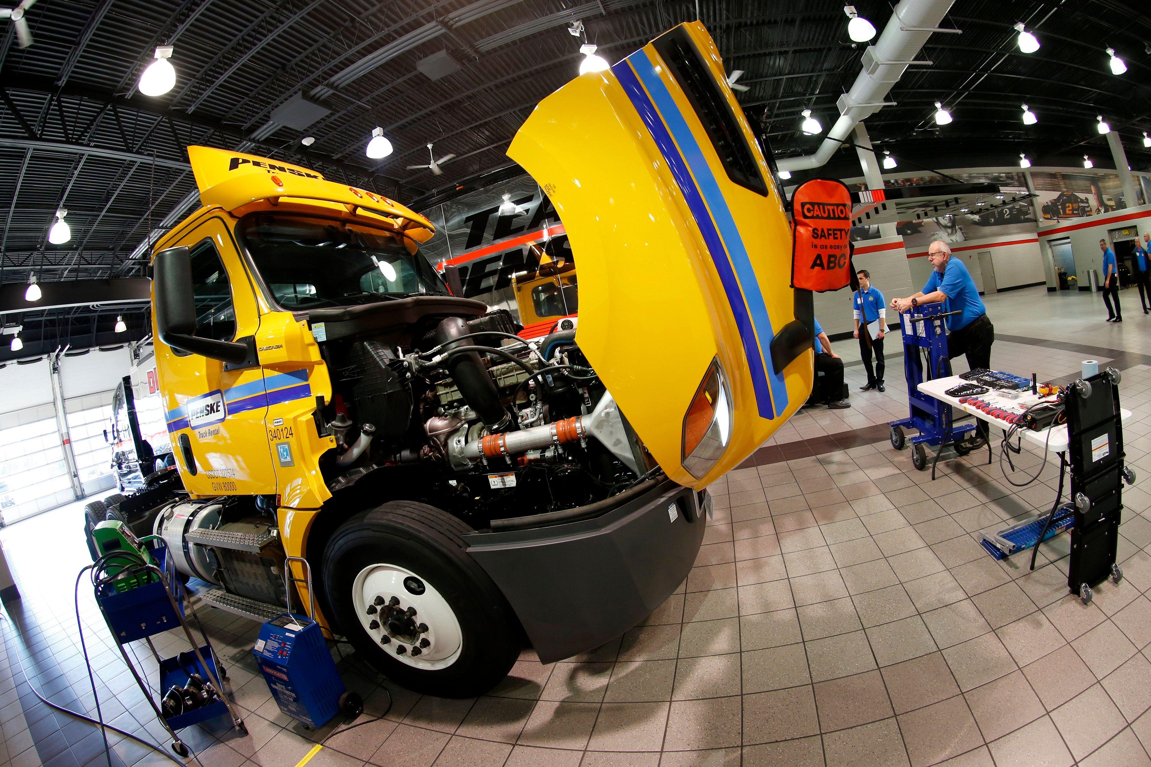 panoramic of truck
