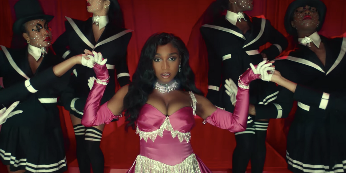 Watch Normani and Megan Thee Stallion Do Marilyn Monroe