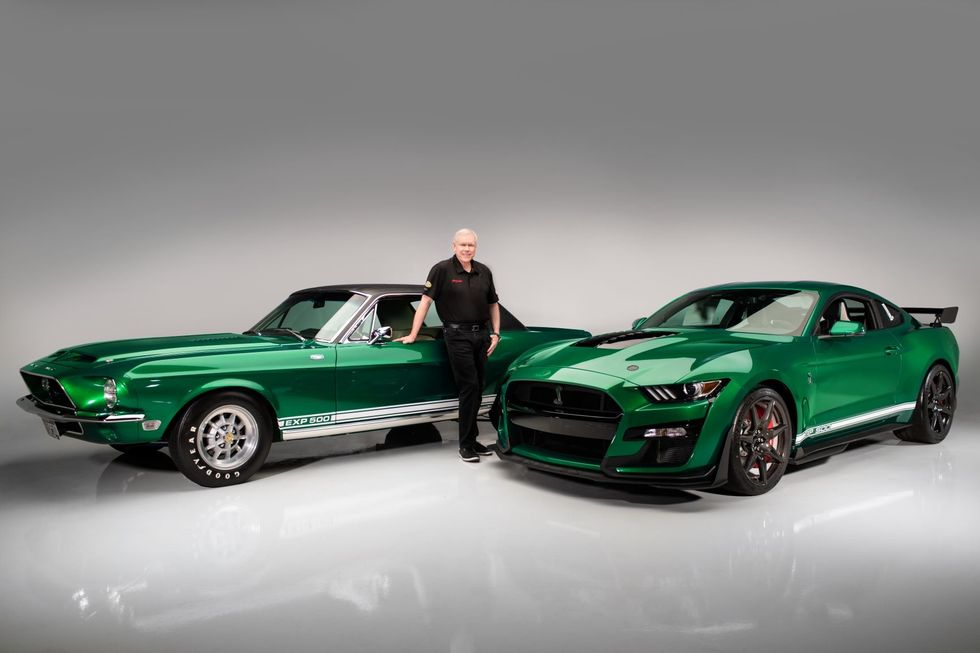 2020 Ford Mustang Shelby GT500 VIN 001