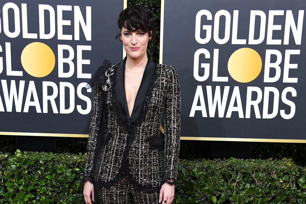 Fleabag Is Auctioning Off Her Golden Globes Suit for Australia