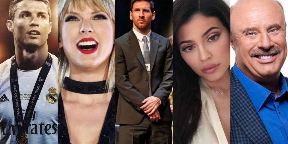 The Highest Paid People in Entertainment