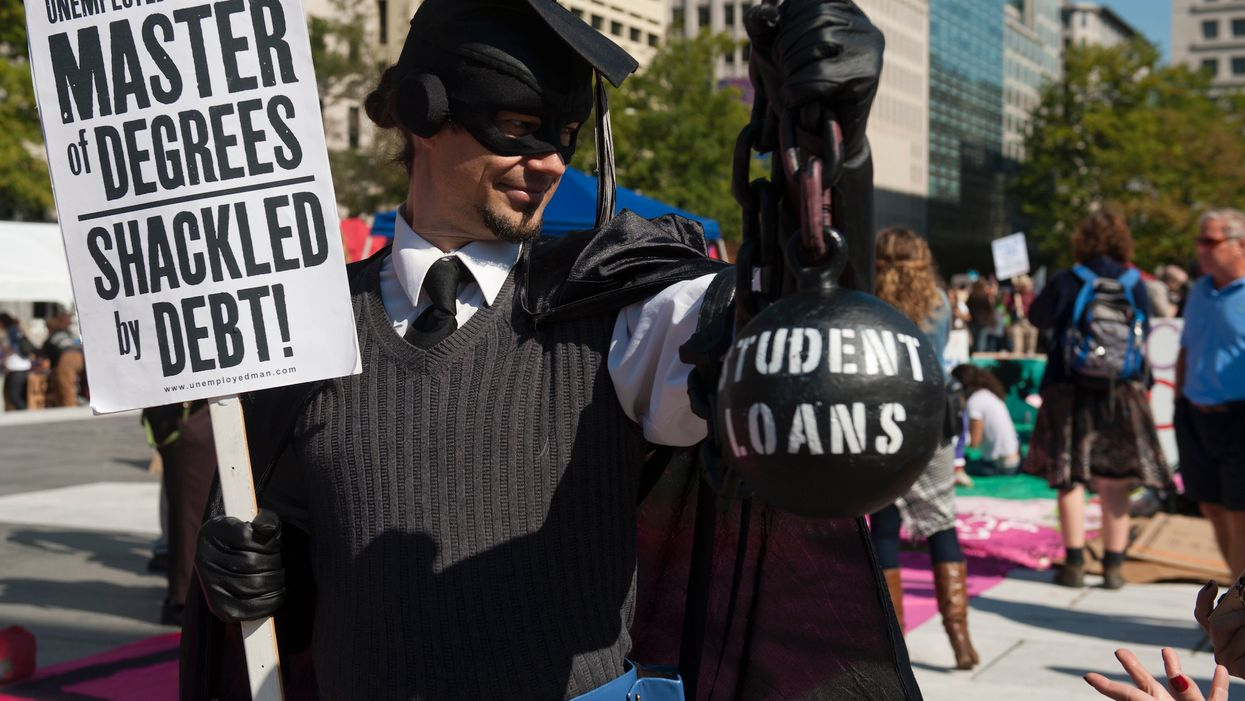 Lawyer argues that his $220,000 student loan debt is so huge he shouldn't have to repay it — and a judge agrees