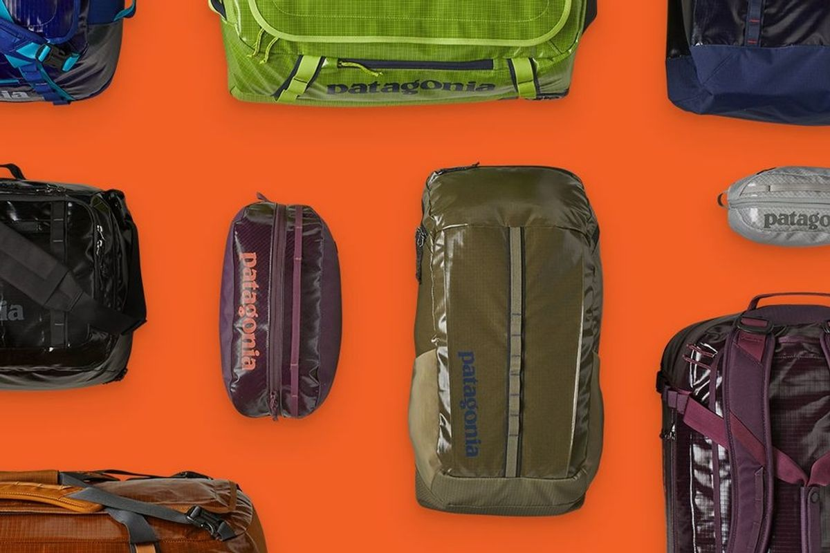 Patagonia now makes one of its most popular bags entirely from recycled material