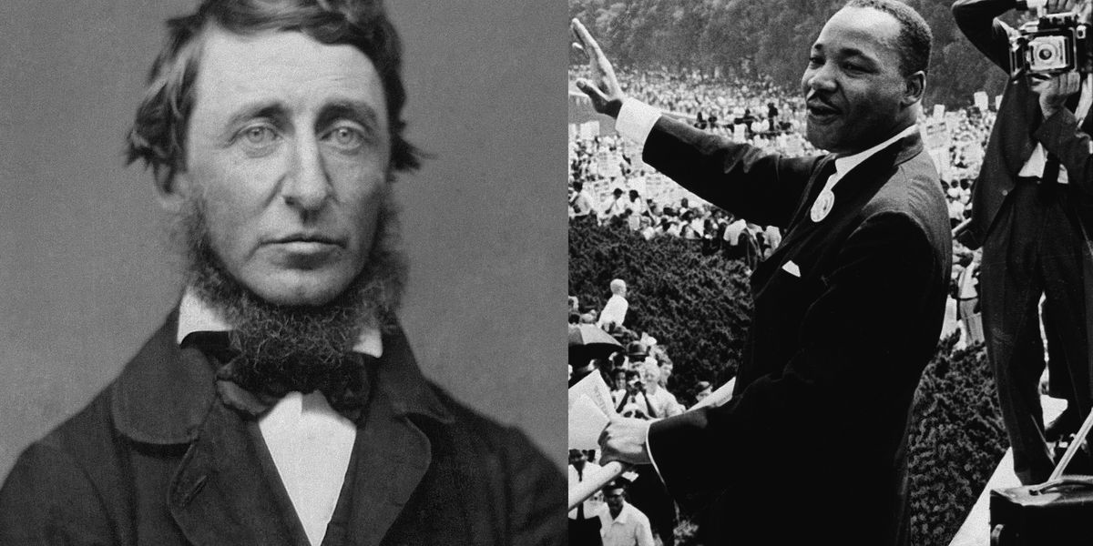 The philosophy of protest: Thoreau, King, and Civil Disobedience