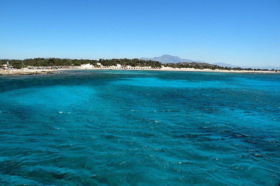 Isola di Chrissi, Grecia