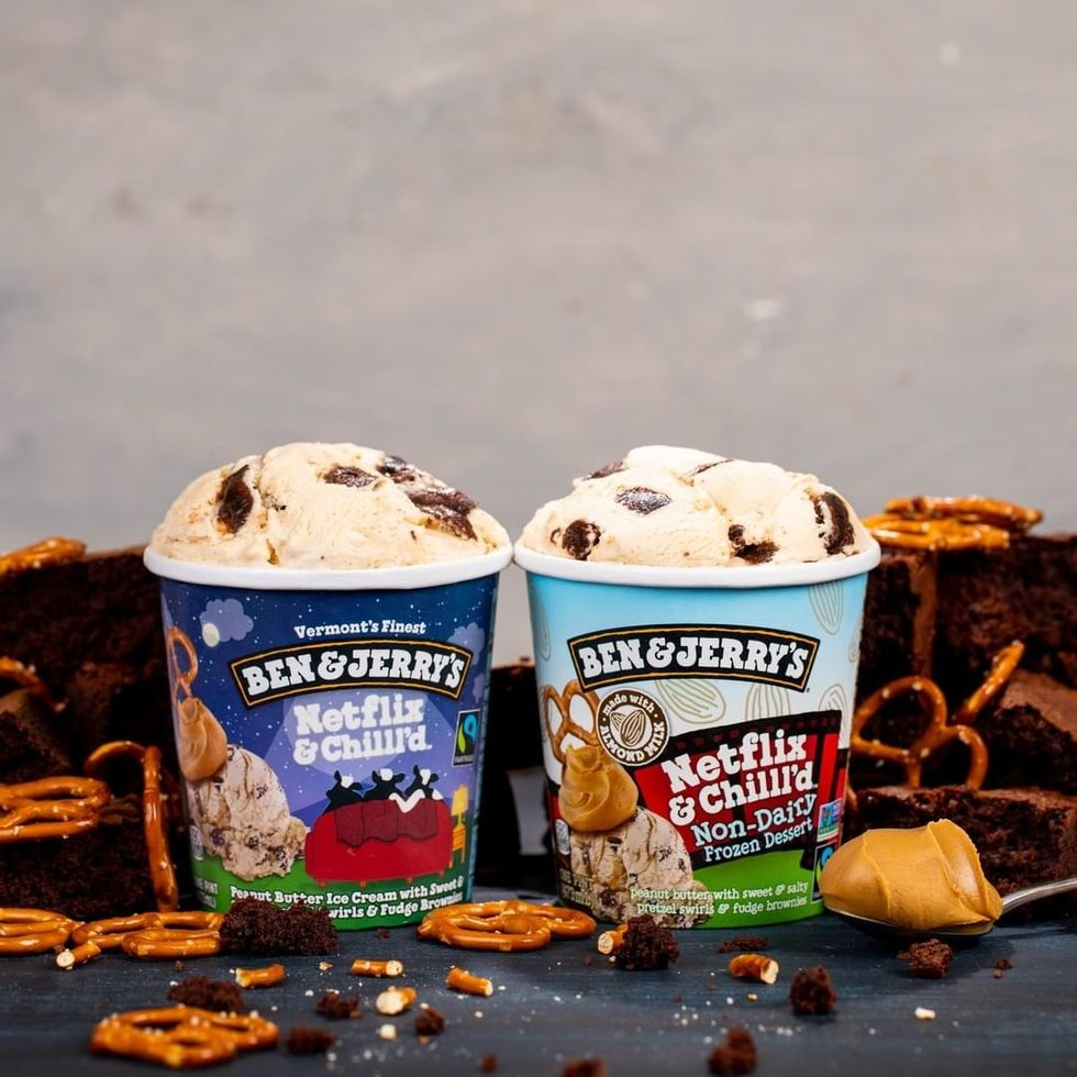 I Stream, You Stream, We ALL Stream For Ben & Jerry's New 'Netflix & Chilll'd' Flavor