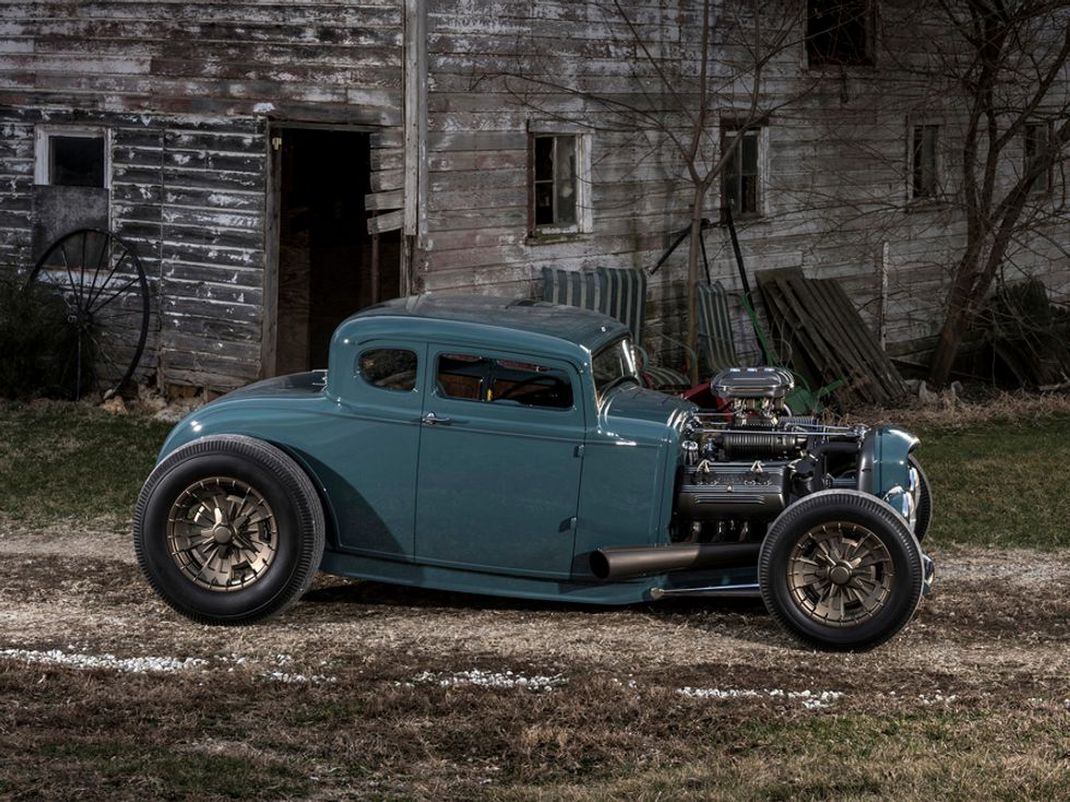 Wayne Carini's 1930 Ford Model A custom coupe