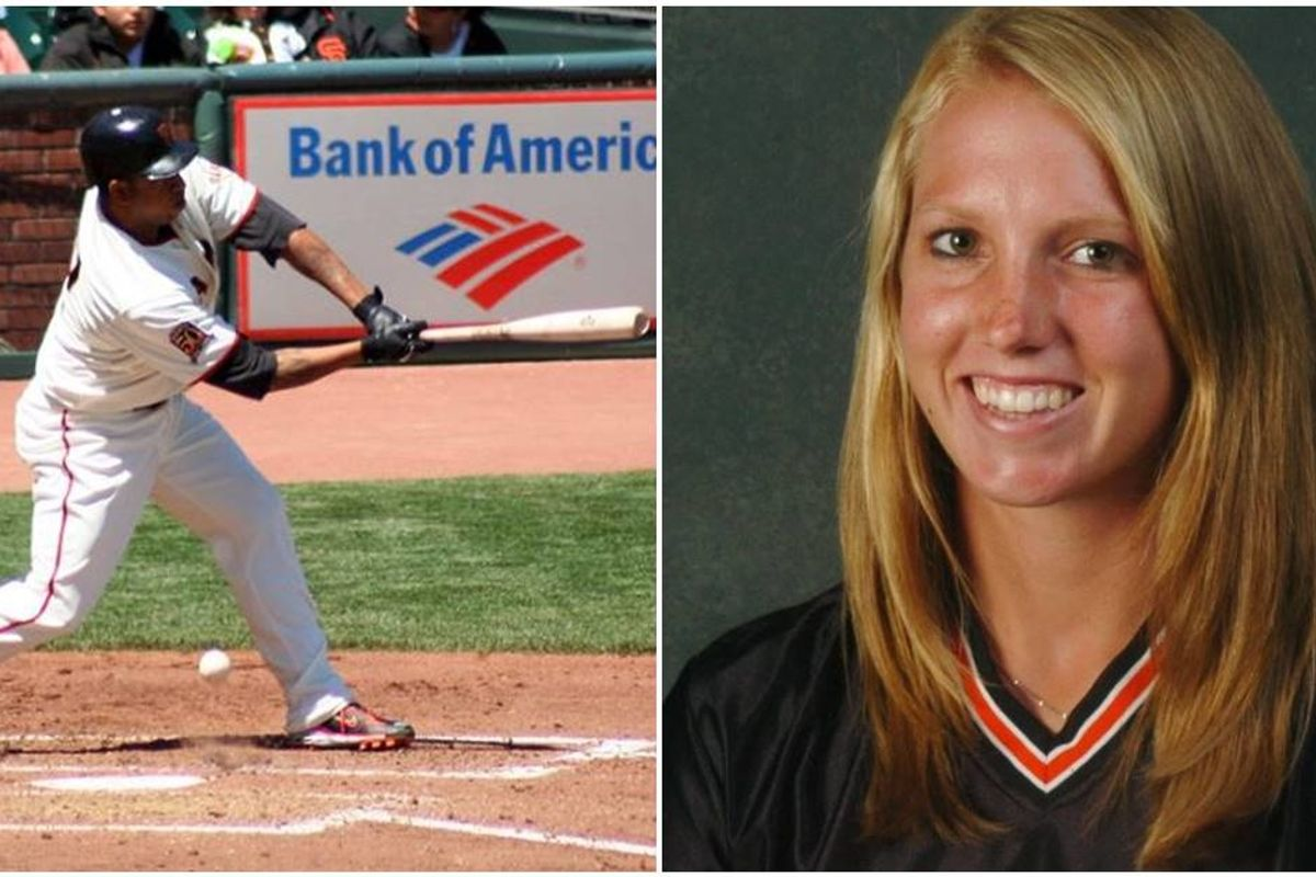 The San Francisco Giants have hired the first female coach in MLB history