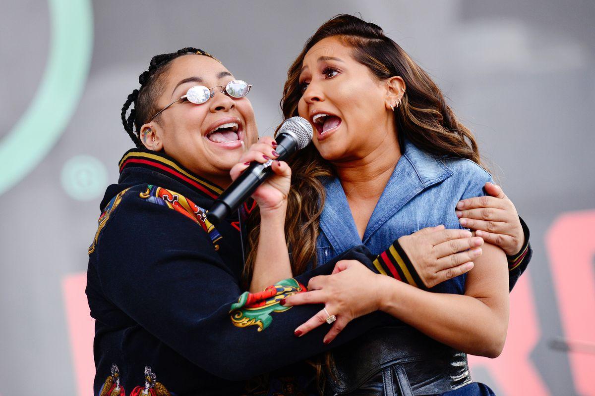 The LA Women's March Had a Surprise Cheetah Girls Reunion