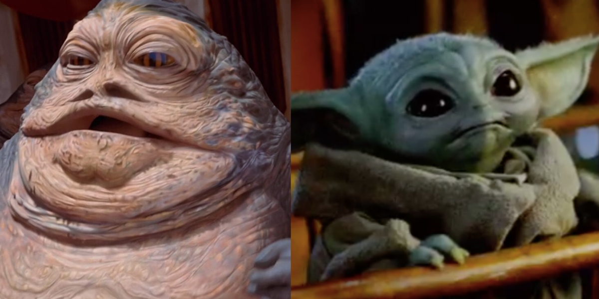 This Fan-Made Rendering Of 'Baby Jabba' Is Some Serious Competition For 'Baby Yoda'