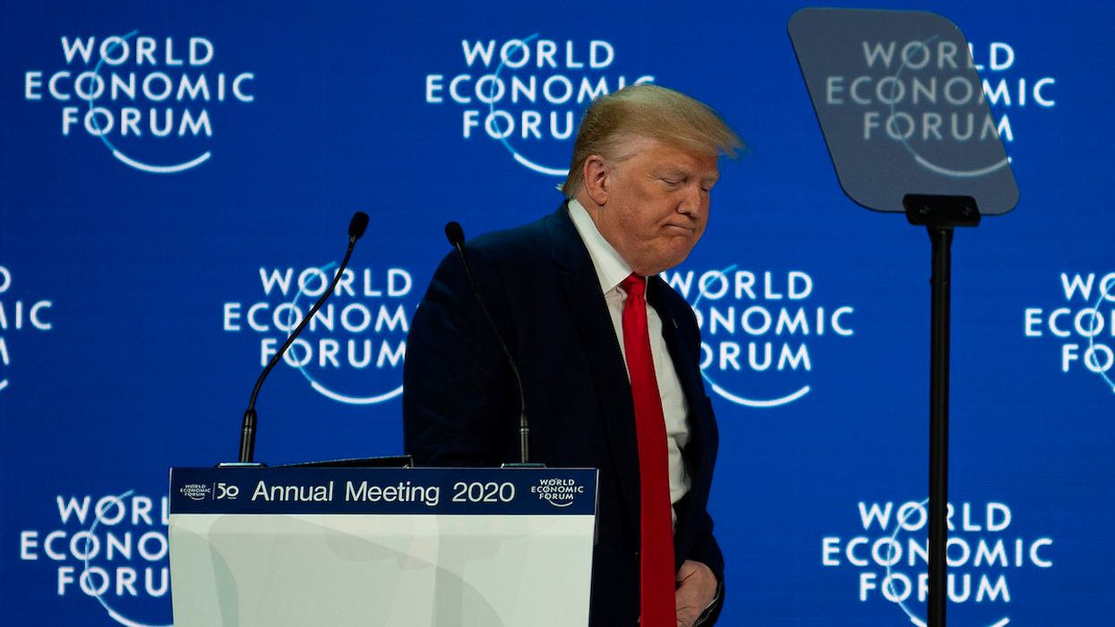 Davos 2020: Trump Dismisses Environmental Concerns as 'Pessimism' at Climate-Focused WEF
