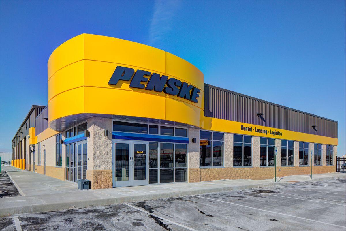 Penske Truck Leasing Location in Deforest, Wisconsin