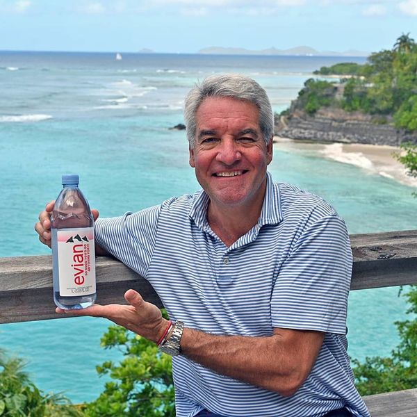 Fyre Fest's Andy King Is Now the Face of Evian