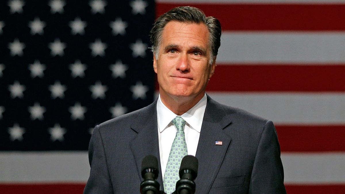 Twitter fumes after Mitt Romney says he'll won't back Chuck Schumer on impeachment trial rules