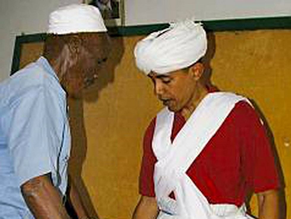 Obama Turban Picture