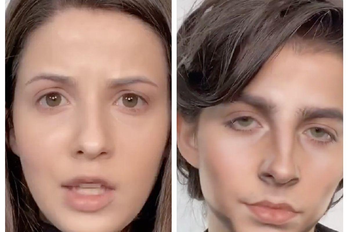 TikTok Makeup Artist Transforms Into Timothée Chalamet