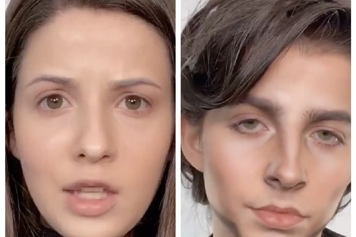TikTok Makeup Artist Transforms Into Timothée Chalamet