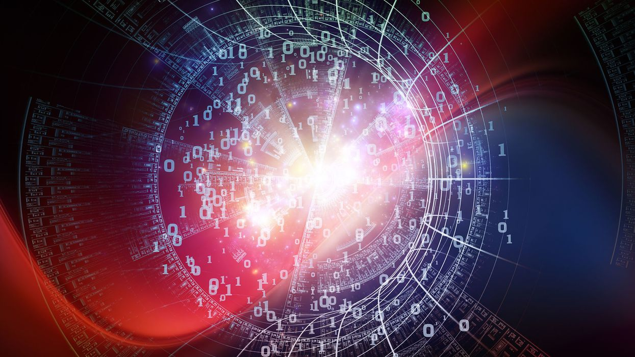 Information in the universe. Is information the fifth form of matter?