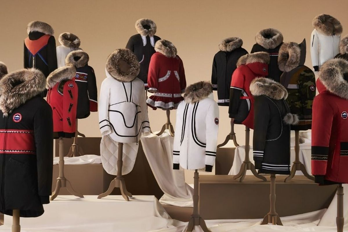 Canada Goose is launching a new parka line created by Inuit designers