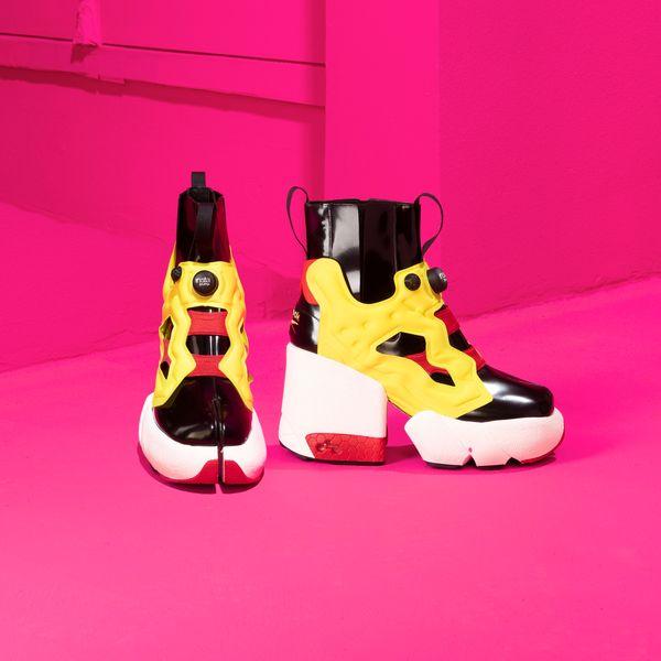 Margiela and Reebok's Tabi Instapump Fury Sneakers Are Here