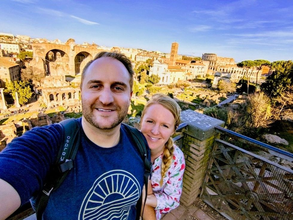 """BambooHR employee Dave Barns visited Rome during his """"Paid Paid Vacation,"""" which was covered by BambooHR."""