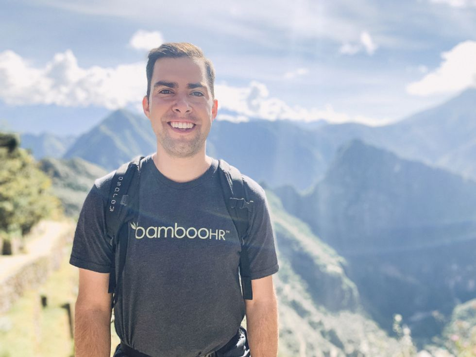 """BambooHR employee Rob Driggs visited Peru during his """"Paid Paid Vacation."""""""