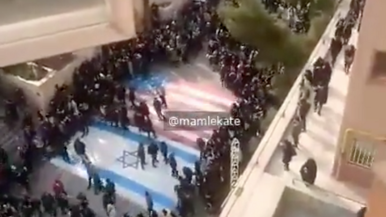 Powerful video shows Iranians demonstrating more respect for the US flag than Colin Kaepernick has