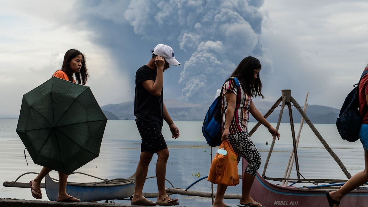 Thousands Flee as Taal Volcano Roars to Life in the Philippines