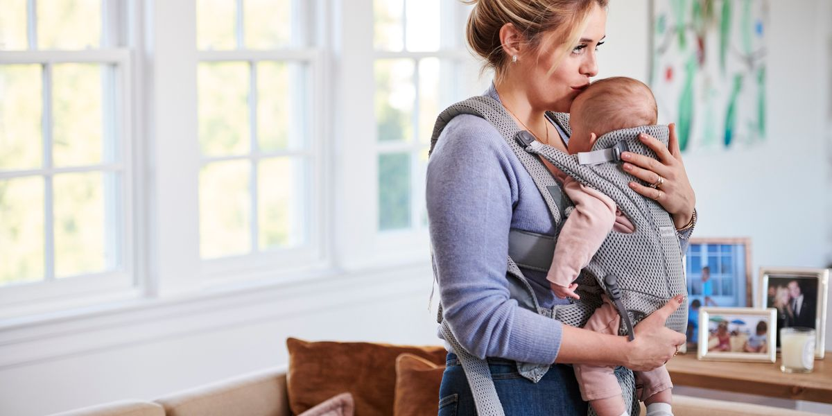 10 ways to be productive with your baby when they just want to be held