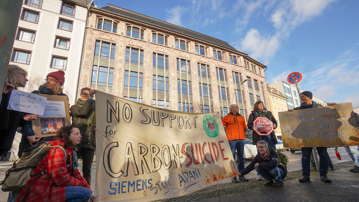 Climate Activists Outraged as Siemens Backs Adani Coal Mining Project in Australia
