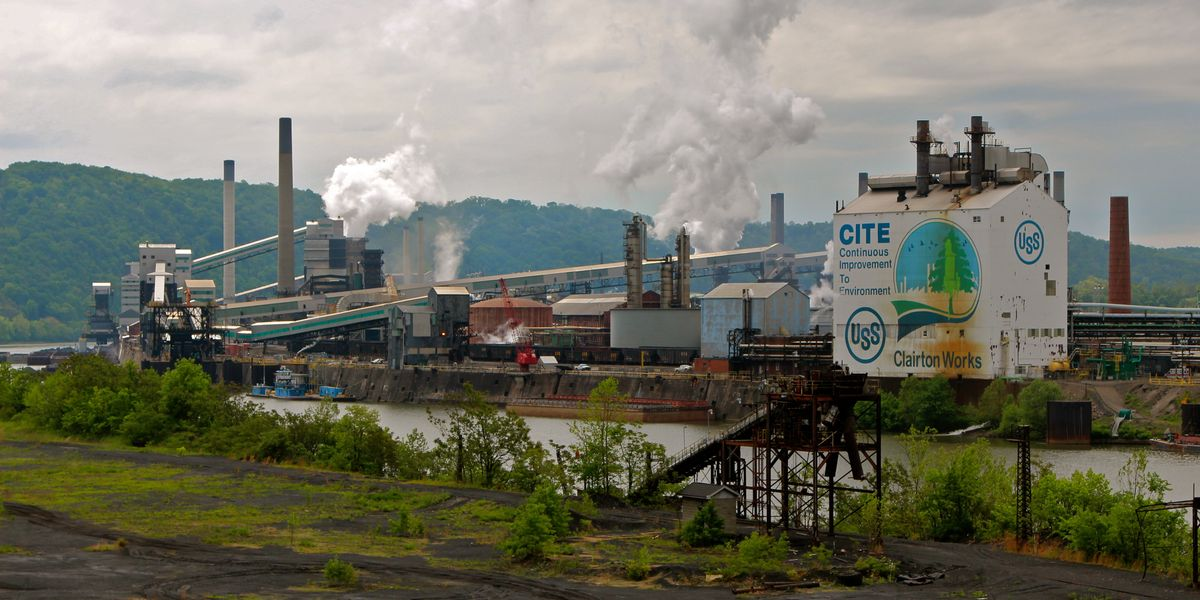 LISTEN: EHN's Pittsburgh reporter discusses air pollution from U.S. Steel's Clairton Coke Works