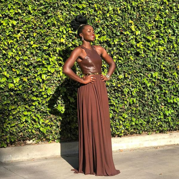 How Lupita Nyong'o Created Her Red Carpet 'Afro Clouds'