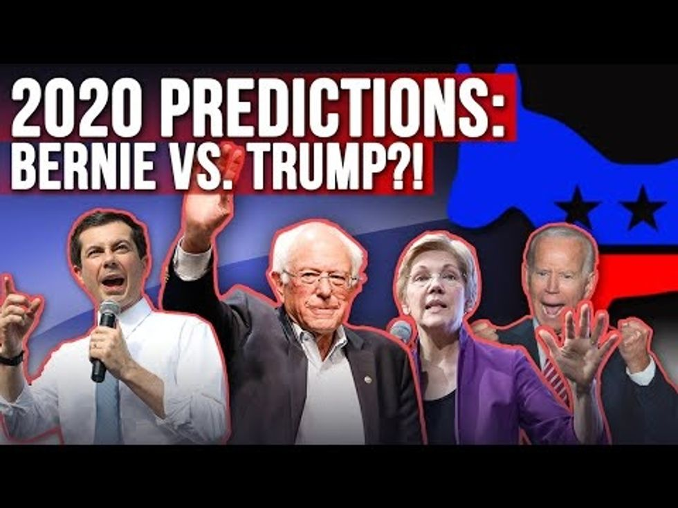 Partner Content - 2020 DEMOCRAT ELECTION PREDICTION: Elizabeth Warren, Bernie Sanders, But...