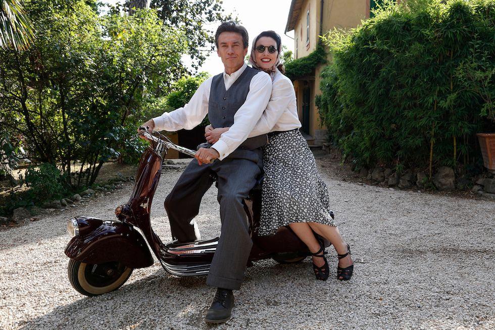 Alessio Boni e Enrica PintoreEnrico Piaggio-Un sogno italiano