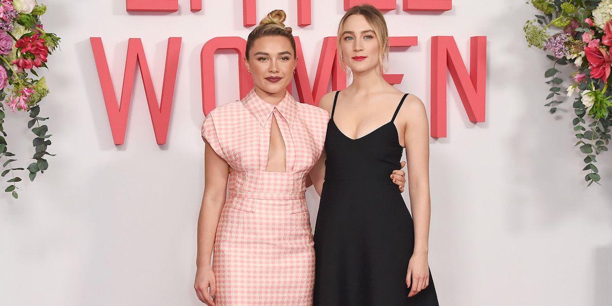 Florence Pugh Stans Saoirse Ronan, Too