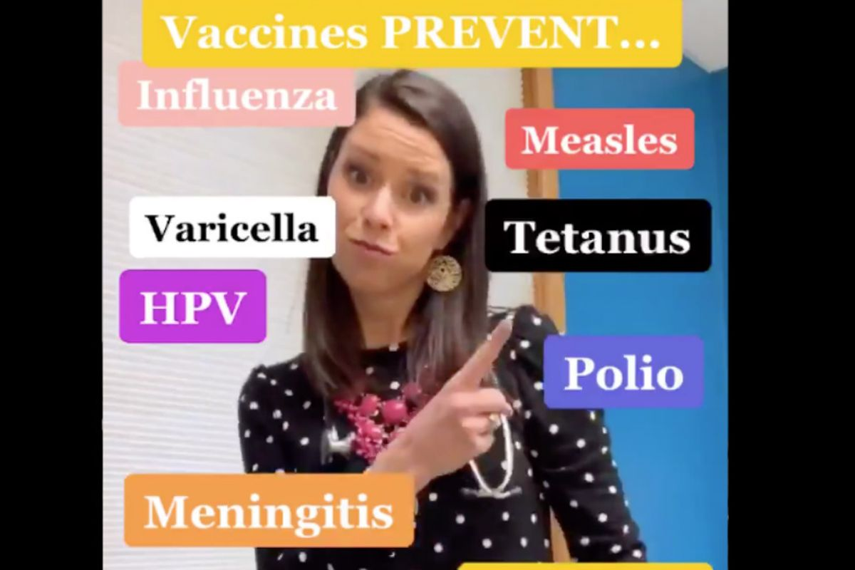 A doctor's pro-vaccination dance video is the wholesome mic drop the world needs right now