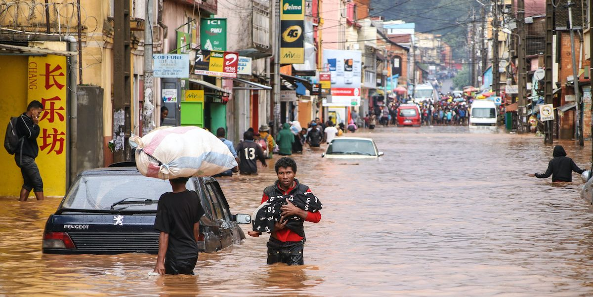 Climate Change Named Biggest Global Threat in New WEF Risks Report
