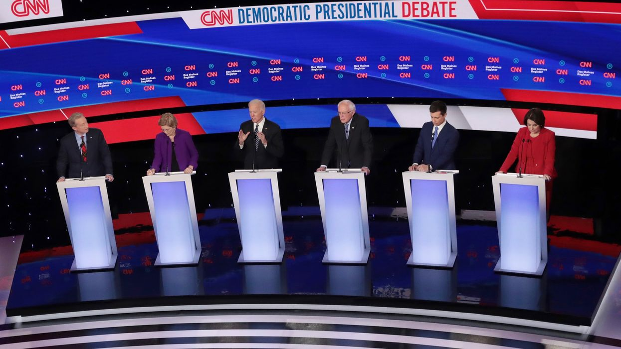 Democratic Candidates Face off on Climate in the Last Debate Before Primary Voting Begins